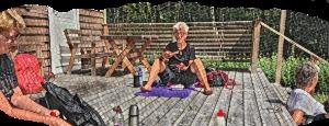 Vandring med yoga och lunch (Stormorshäll)